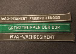 DDR, Cuff Titles. NVA, Grentztruppen...