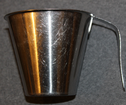 Stainless Steel mug w/handle, Finnish