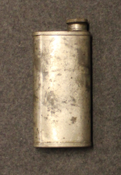 Finnish Army gun oil bottle, issued. WW2