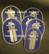 Finnish Police, Arm badge. Original.