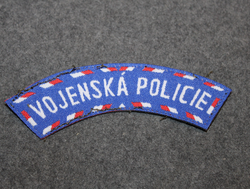 Vojenská Policie, military police. Patch, Czech Republic