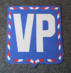 VP, Vojenská Policie, military police. Patch, Czech Republic