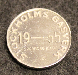 Stockholms Gasverk. 1955. Kaasurahake.