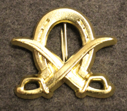 Finnish Cavalry shoulder insignia.