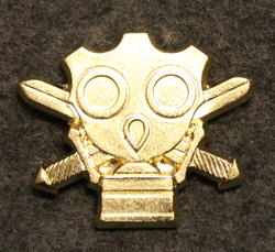 CBRN School, Finnish army, shoulder insignia.