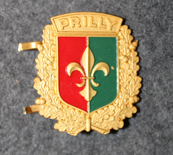 Cap badge Prilly, swiss police