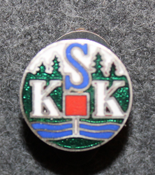 KSK, Spotrklubb, Sports club, buttonhole pin.
