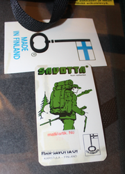 Map case, Savotta brand, Finnish Civil Defense ( VSS ) Model 024