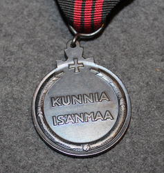 Commemorative medal of Winter war + Air Defense bar
