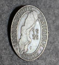 Limnologorum Conventus IX Stockholm 1939, Limnology congress.