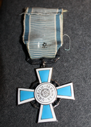 The Silver Cross of Merit for Finnish Physical Education and Sports