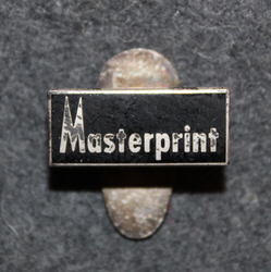 Masterprint. Buttonhole pin