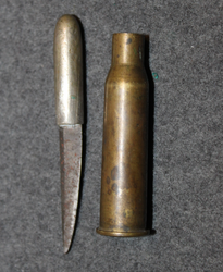 1918 civil war era cartridge knife.