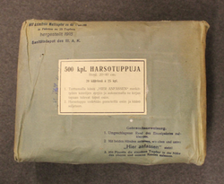 WW1 - WW2 Finnish Army / German army, gauze, unopened pack.