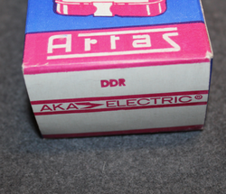 DDR, Artas Narva 1511 flashlight, box, unissued, vintage...