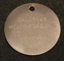 Dalarnas Mejeriförening, Kärnmjölk.  Dairy token