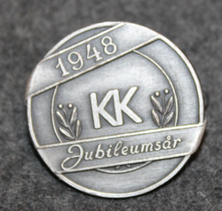 Frälsningsarmens KK, jubileumsår 1948. Salvation army, ladies club, jubilé 1948
