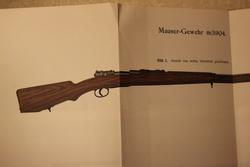 Waffenlehre, Handfeuerwaffen, Selbslader und Maschinengewehre. R. Wille, 1904