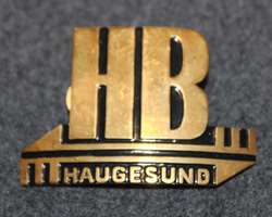 HB Haugesund. Cap badge. LAST IN STOCK