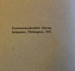 Engineers handbook. Finnish Army conscript manual, 1931