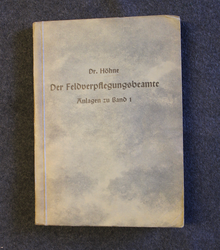 Der feldverpflegungsbeamte, band 3. German military supply manual 1942