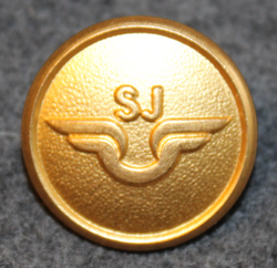 Statens Järnvägar, SJ, Swedish government railways. 20mm