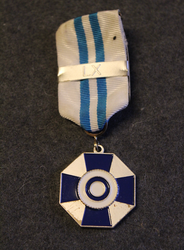The Finnish Reservists' Association, medal of merit, special grade, w/ 60th anniversary bar.