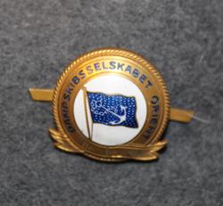 Dampskibsselskabet Orient, laivayhtiön kokardi, 1915