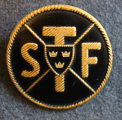 STF, Svenska Turistföreningen. Swedish Tourist Association. 47mm LAST IN STOCK