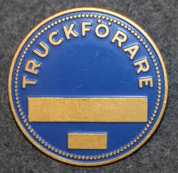 Truckförare. Trukkikuski. 40mm