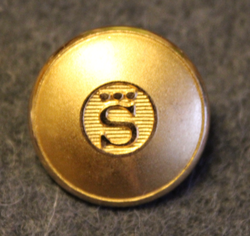 AB Sporrong. Button and medal manufacturer.  22mm
