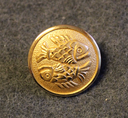Pisces, Zodiac Sign, 21mm
