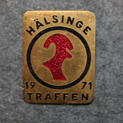 Hälsinge Träffen 1971. MC meeting.