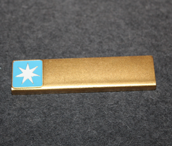 Maersk Air A/S, airlines, pilot name badge
