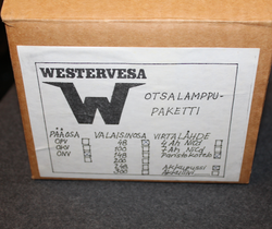 Westervesa ONV48, headlight, unissued