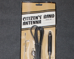 1970´s Citizen´s band antenna, unissued, magnetic base.
