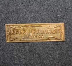 Köpings linnemagasin, köping.