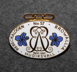 Rebeckalogen no:57, Browalla, Hudiksvall. Odd fellows Sweden.