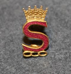 Rebeckalogen S ja kruunu. IOOF av Sverige.