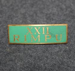XXII Rimpu, AB Turitz, Göteborg, Kauppaliike