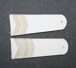 Soviet shoulder boards, white base color.