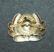 Soviet cap badge, aviation. Stamped.