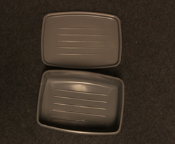Finnish army soap box, original gray.