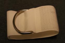Arm sling, velcro, emergency model, for rifle sling or other belt.