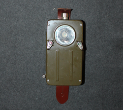 Gepe flashlight, swedish army, unissued.