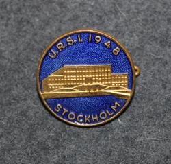 U.R.S.I 1948, Stockholm = The International Union of Radio Science / Union Radio-Scientifique Internationale
