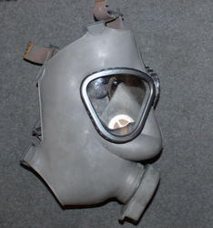 Finnish army Gasmask, w/ filter, Issued.