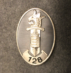 Finnish Police, Badge, Nyland no: 128