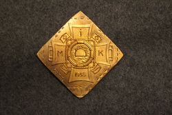 Mine school 1935, school badge base plate. LAST IN STOCK
