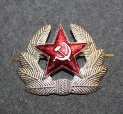 CCCP, fur cap / visor cap badge.
